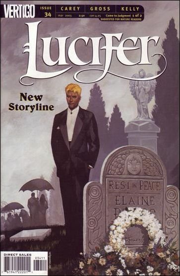 Lucifer (2000) 34-A by Vertigo