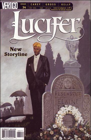 Lucifer (2000) 34-A by Vertigo
