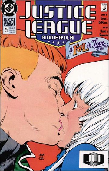 Justice League America 45-A by DC