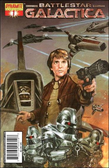 Classic Battlestar Galactica 1-A by Dynamite Entertainment