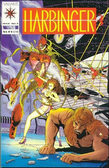Harbinger (1992) 3-A by Valiant