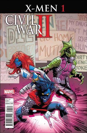 Civil War II: X-Men 1-B