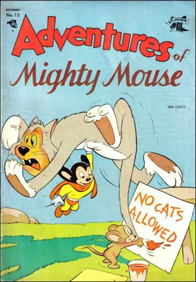 Adventures of Mighty Mouse (1952) 15-A by St. John
