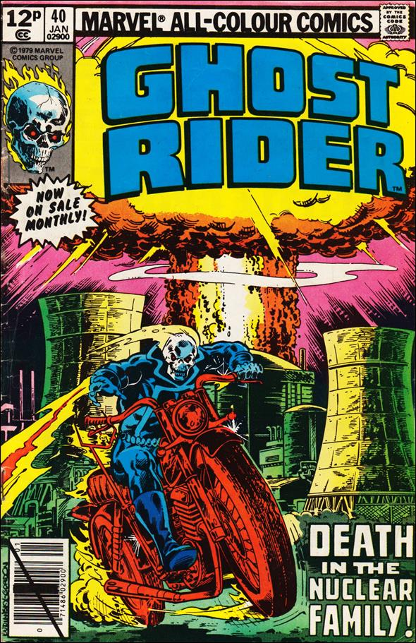 Ghost Rider (1973) 40-B by Marvel