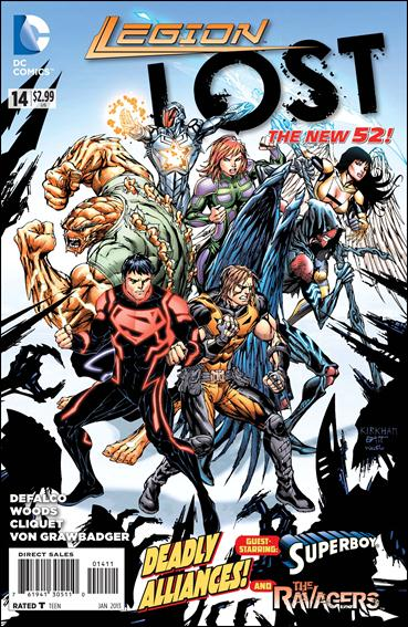 Legion Lost (2011) 14-A by DC