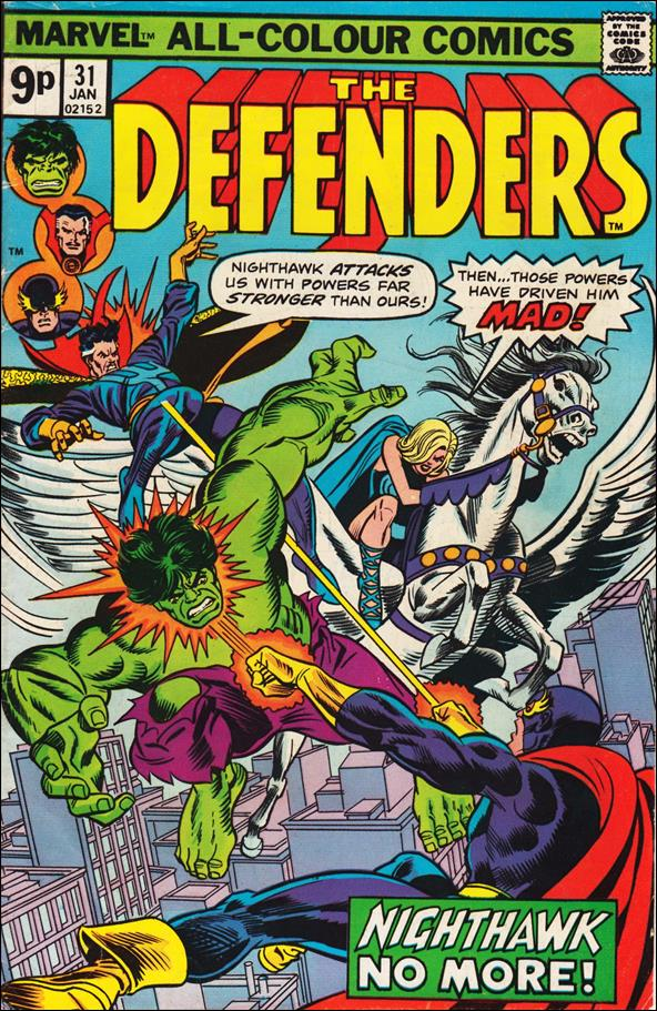 Defenders (1972) 31-B by Marvel