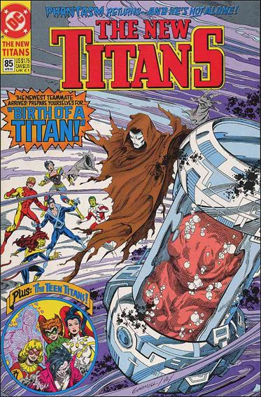 New Titans 85-A by DC