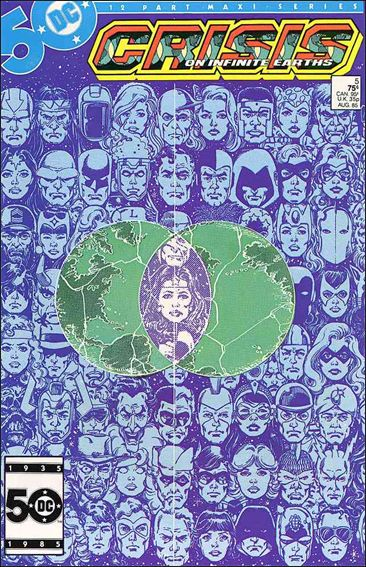 Crisis on Infinite Earths 5-A by DC