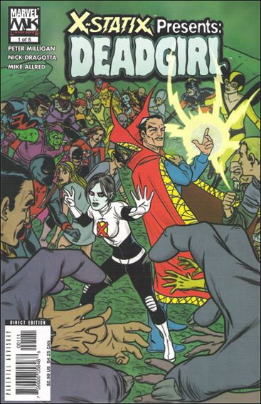 X-Statix Presents: Dead Girl 1-A by Marvel Knights