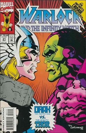 Warlock and the Infinity Watch 21-A