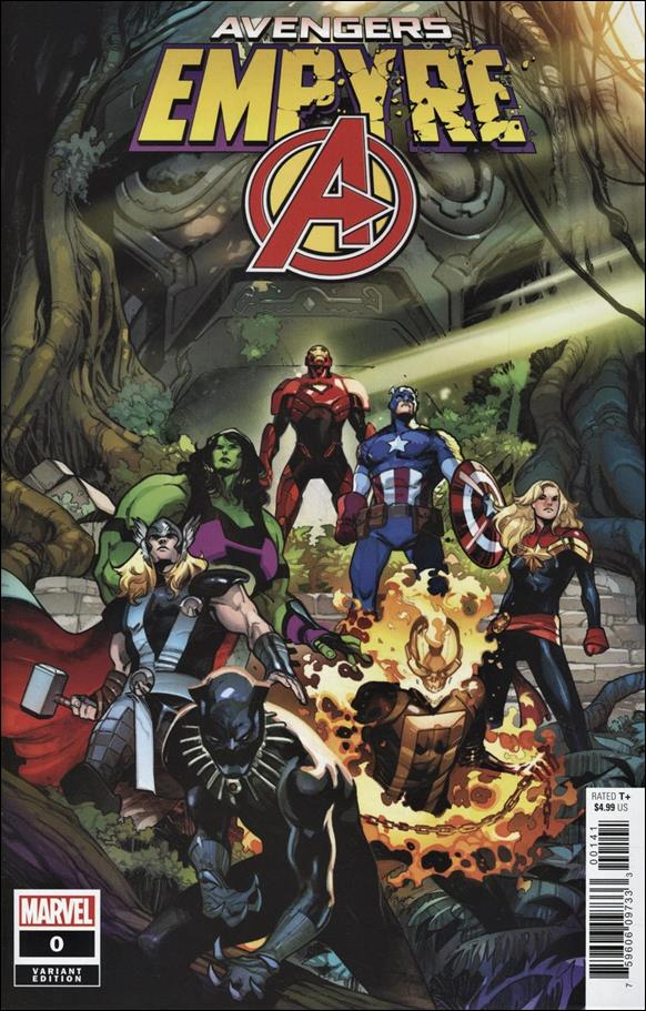 Empyre: Avengers 0-C by Marvel