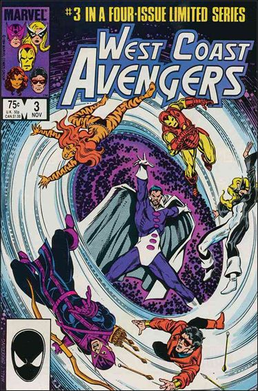 West Coast Avengers (1984) 3-A by Marvel
