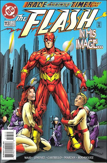 Flash (1987) 113-A by DC
