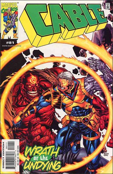 Cable (1993) 81-A by Marvel