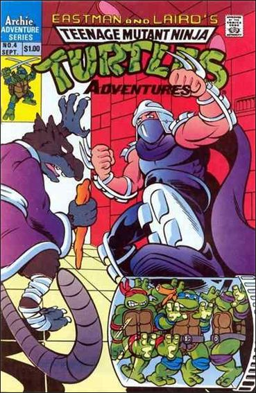 Teenage Mutant Ninja Turtles Adventures (1989) 4-A by Archie