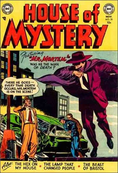House of Mystery (1951) 20-A by DC