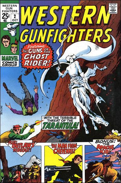 Western Gunfighters (1970) 2-A by Marvel