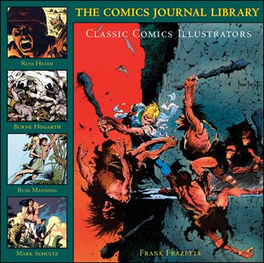 Comics Journal Library 5-A by Fantagraphics