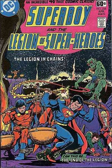 Superboy & the Legion of Super-Heroes 238-A by DC