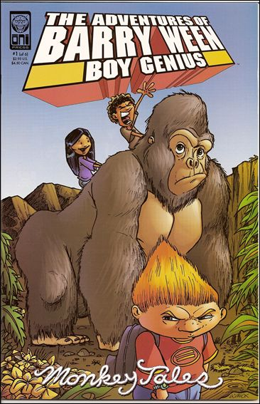 Adventures of Barry Ween, Boy Genius 3: Monkey Tales 1-A by Oni Press
