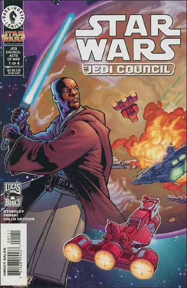 Star Wars: Jedi Council: Acts of War 1-A by Dark Horse