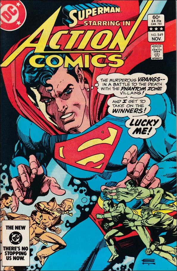 Action Comics (1938) 549-A by DC