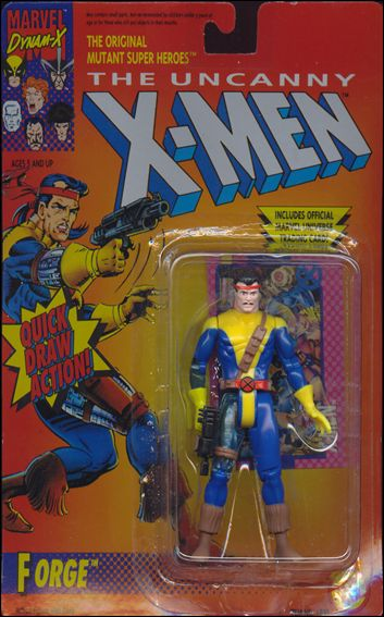 X Men 5 Quot Action Figures Forge Brown Holster Jan 1992