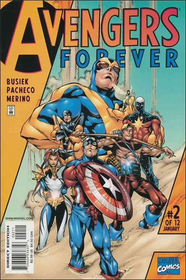 Avengers: Forever 2-A by Marvel