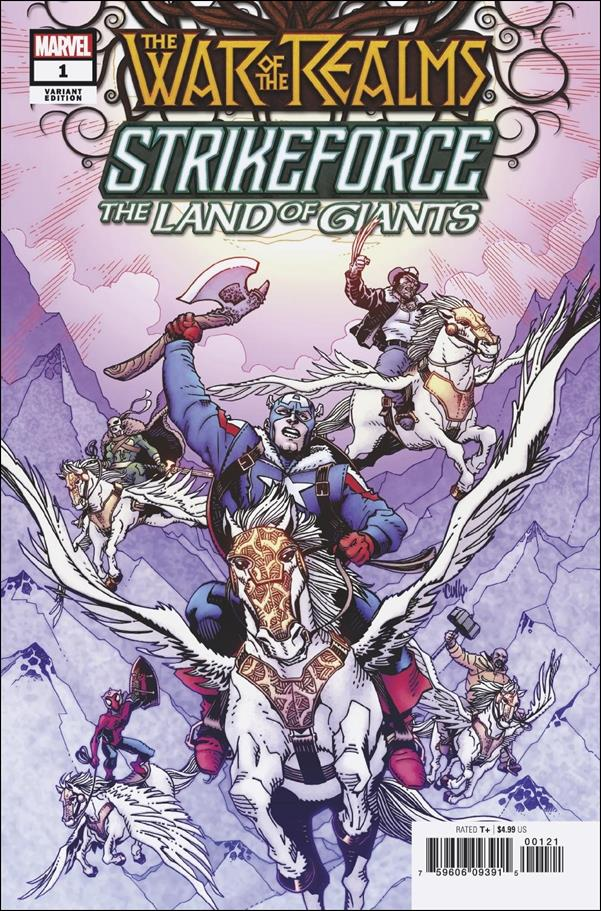 War of the Realms Strikeforce: The Land of Giants 1-B by Marvel