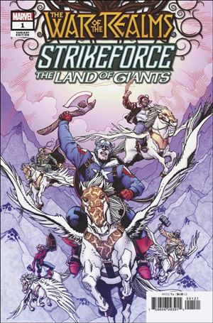 War of the Realms Strikeforce: The Land of Giants 1-B