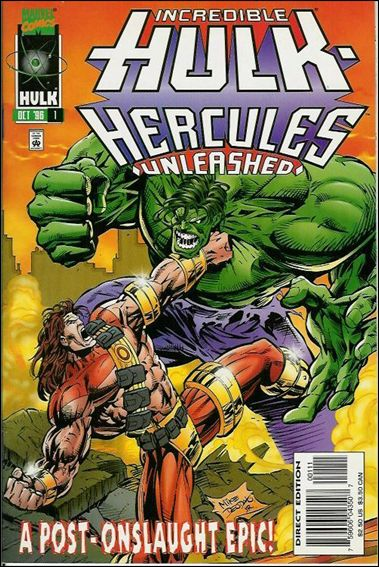 Incredible Hulk: Hercules Unleashed 1-A by Marvel