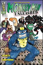 Monkey Man Unleashed 1-A by Angry Naked Comics