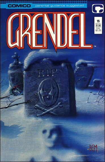 Grendel (1986) 15-A by Comico