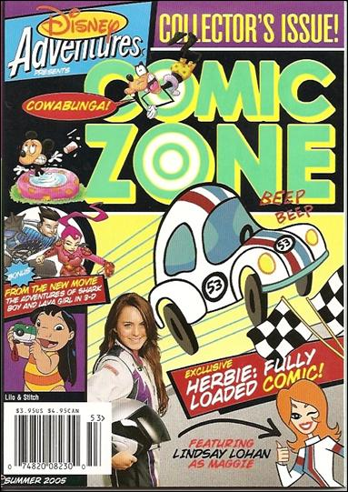 Disney Adventures Comic Zone  53-A by Disney