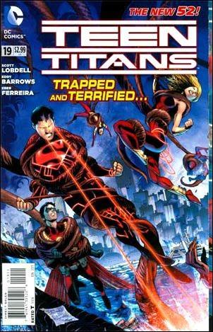 Teen Titans (2011) 19-A by DC