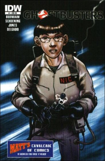 Ghostbusters (2011) 1-K by IDW