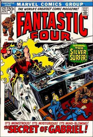 Fantastic Four (1961) 121-A by Marvel