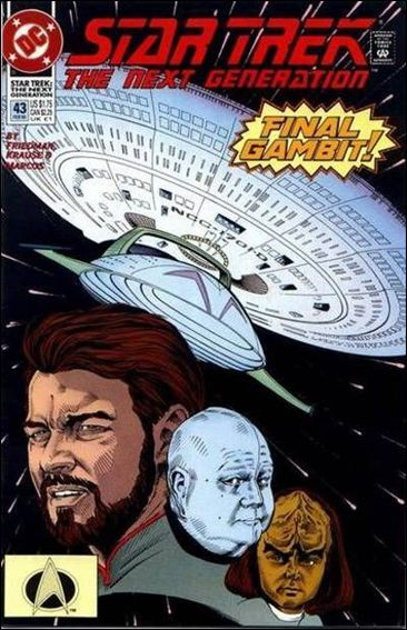 Star Trek: The Next Generation (1989) 43-A by DC