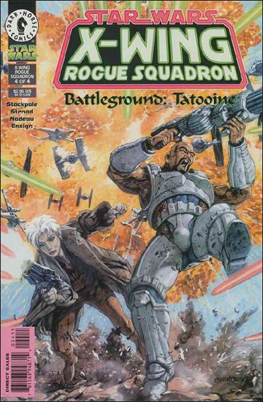 Star Wars: X-Wing Rogue Squadron 12-A by Dark Horse