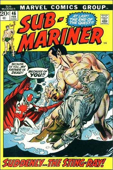 Sub-Mariner (1968) 46-A by Marvel