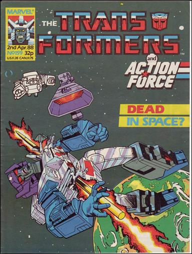 Transformers (UK) 159-A by Marvel UK