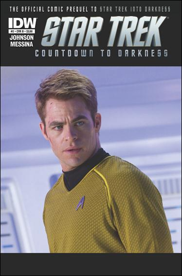 Star Trek: Countdown to Darkness 2-B by IDW