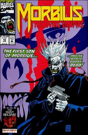 Morbius: The Living Vampire (1992) 10-A by Marvel