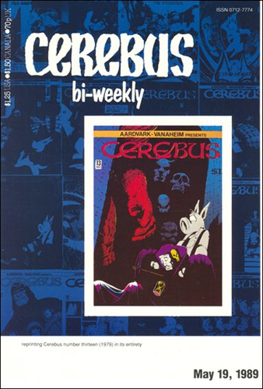 Cerebus Bi-Weekly 13-A by Aardvark-Vanaheim