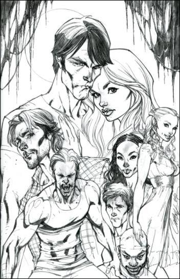 True Blood (2010) 1-E by IDW