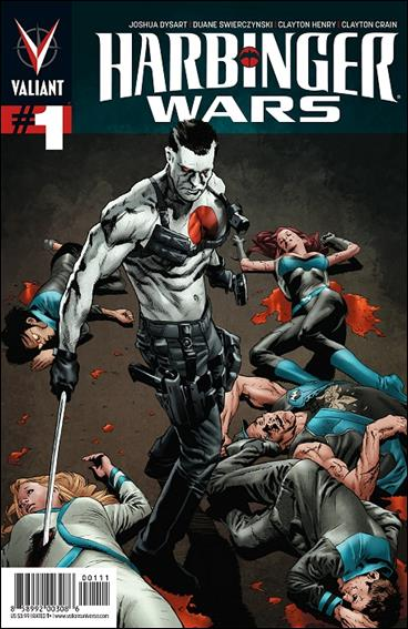 Harbinger Wars 1-A by Valiant Entertainment