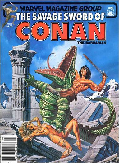 Savage Sword of Conan (1974) 77-A by Marvel