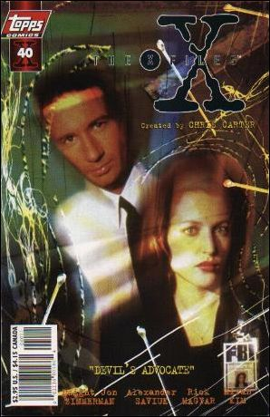 X-Files (1995) 40-B by Topps