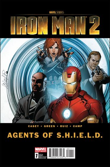 Iron Man 2: Agents of S.H.I.E.L.D. 1-A by Marvel
