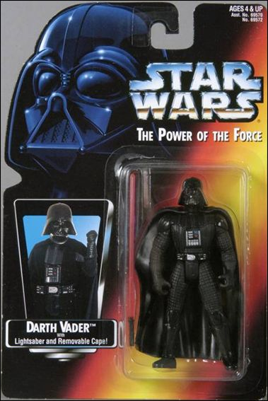 "Star Wars: The Power of the Force 2 3 3/4"" Basic Action Figures Darth Vader (Long Saber/Long Tray) by Kenner"